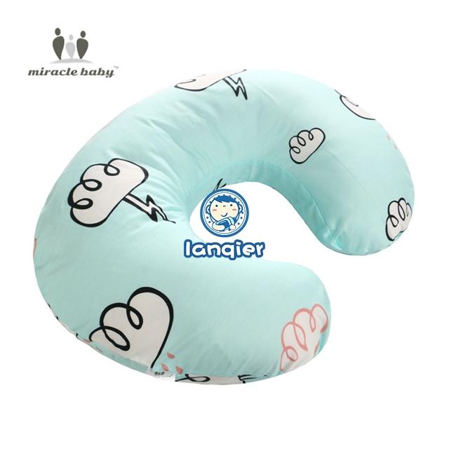 Baby Pillow Head Cover,Meet/&sunshin Newborn Baby Breastfeeding Pillow Cover Nursing Pillow Cover Slipcover A